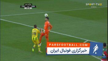 درخشش امیر عابدزاده در بازی مقابل توندلا
