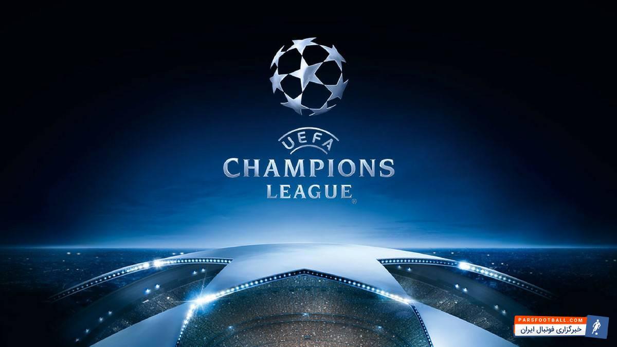 اینفوگرافی نتایج قرعه کشی مرحله یک هشتم نهایی لیگ قهرمانان اروپا در سال 2018
