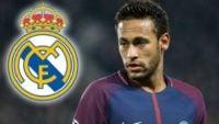 نیمار ستاره پاری سن ژرمن فرانسه مورد توجه باشگاه رئال مادرید قرار دارد