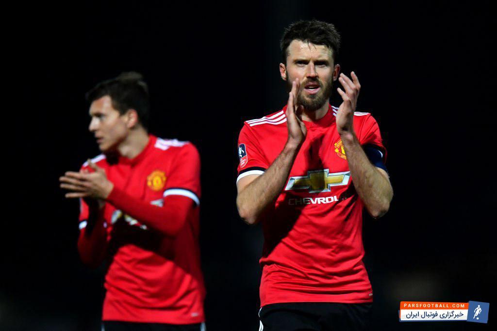 کریک کاپیتان تیم فوتبال منچستریونایتد خبر از خداحافظی اش از فوتبال در پایان فصل داد