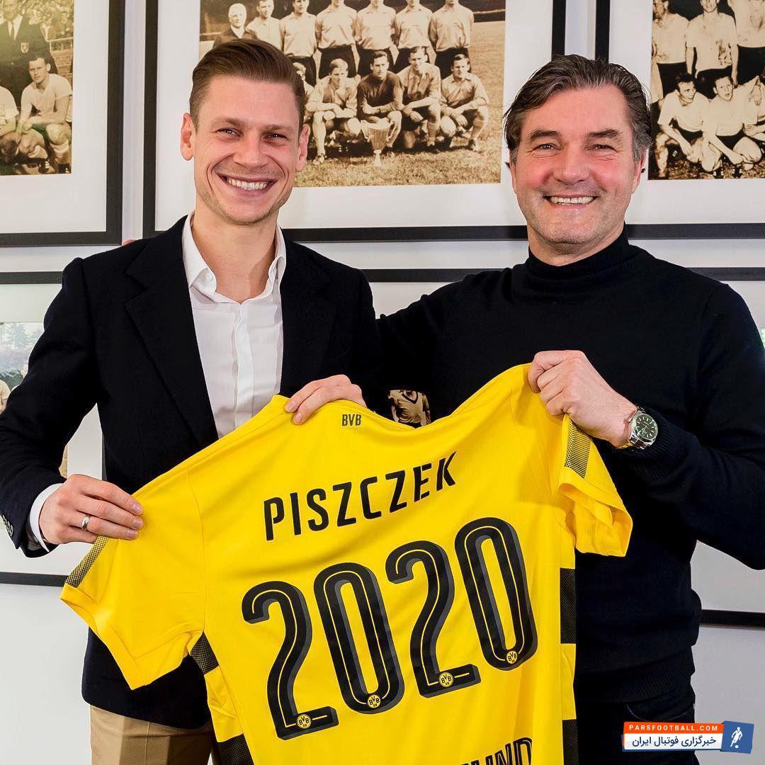 قرارداد پیسچک که عضو باشگاه دورتموند است، یک سال دیگر به اتمام می رسید؛ اما امروز این مدافع میانی تصمیم گرفت قرارداد خود را تا سال 2020 تمدید کند.