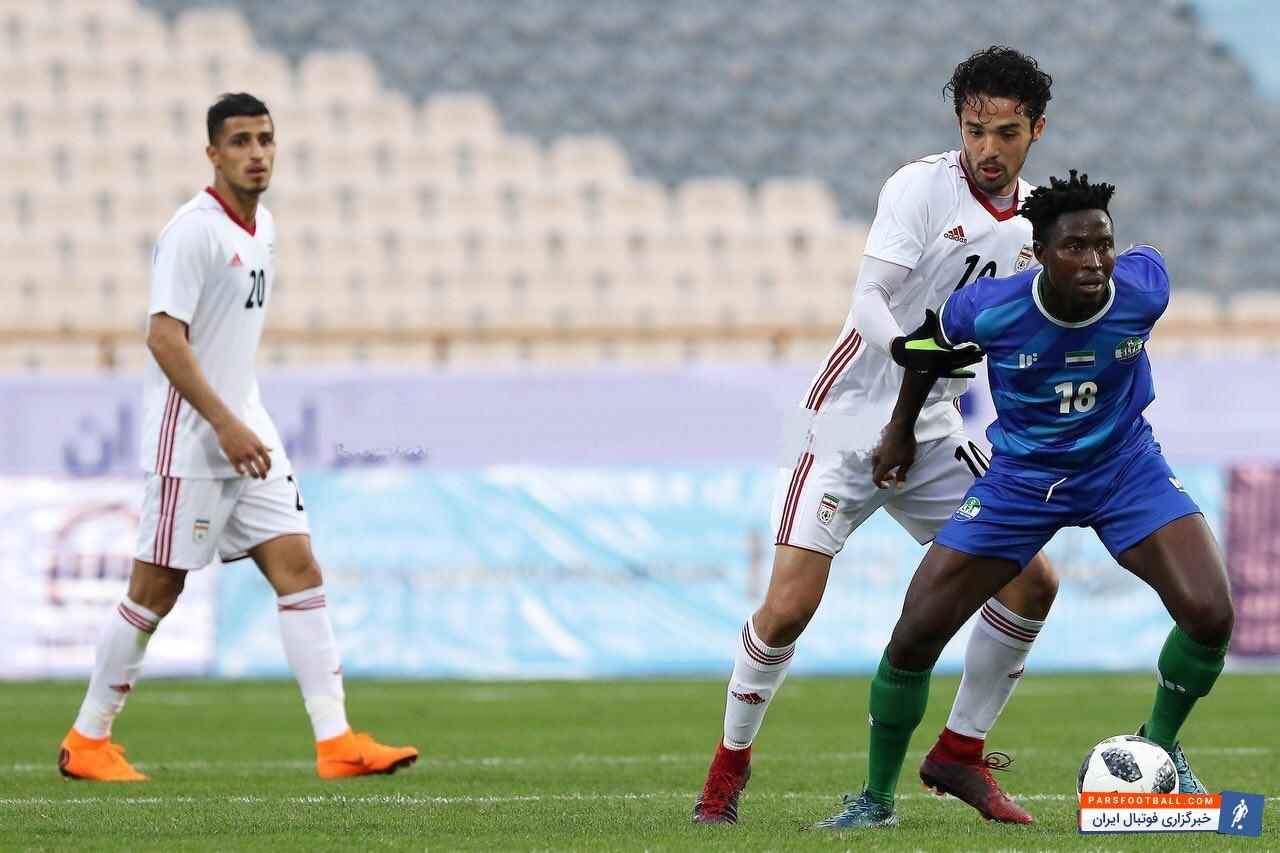 عکس ؛ ماموریت موفق آمیزستاره استقلال در تیم ملی