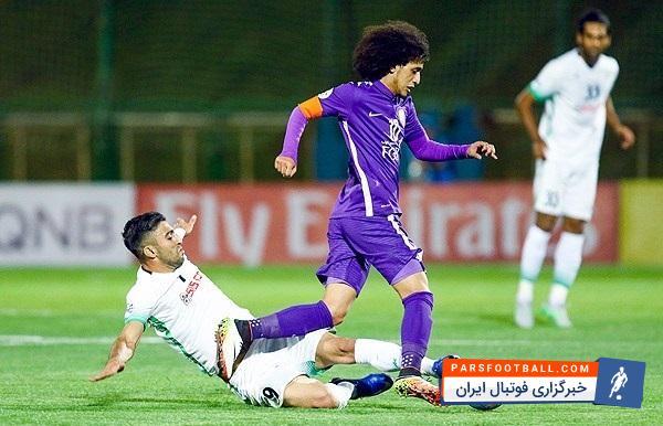 العین ؛ در 5 بازی گذشته 6 پنالتی برای تیم العین در لیگ قهرمانان ؛ پارس فوتبال