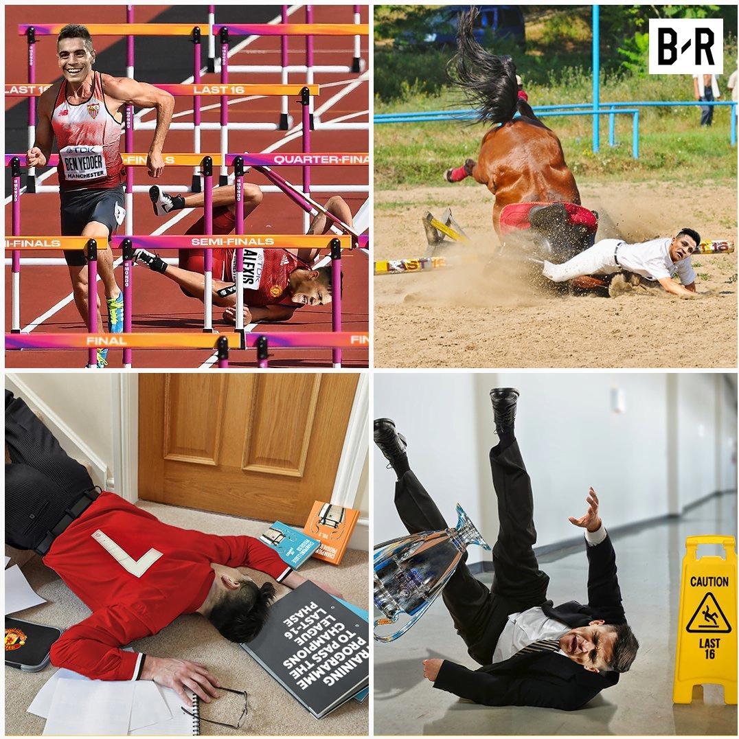 عکس؛ طنز؛ حذف شیاطین سرخ از لیگ قهرمانان اروپا