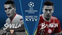 سویا و بایرن مونیخ در لیگ قهرمانان اروپا