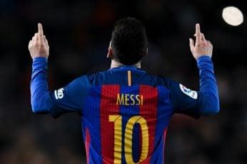 مسی ستاره آرژانتینی به هفدهمین سال حضورش در تیم فوتبال بارسلونا رسید