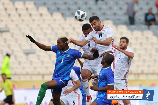 عکس ؛ اولین گل رسمی ستاره استقلالی در تیم ملی در بازی نیمه رسمی!
