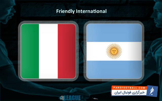 کلیپی از خلاصه بازی دوستانه تیم های آرژانتین و ایتالیا 4 فروردین 97 ؛ پارس فوتبال