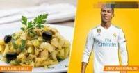 غذای مورد علاقه ستاره های فوتبال