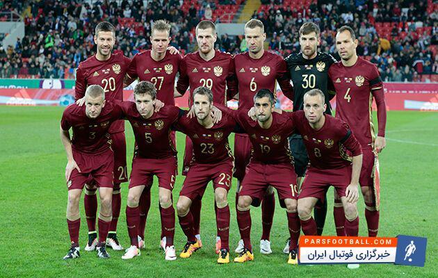 تیم ملی روسیه مقابل فرانسه با نتیجه ی 3 بر 1 تن به شکست داد ؛ پارس فوتبال