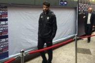 مهدی طارمی که با حضور در استادیوم آزادی هم اکنون در حال تماشای بازی ایران در برابر سیرالئون است.مهدی طارمی در اردوی بعدی تیم ملی حضور خواهد داشت.