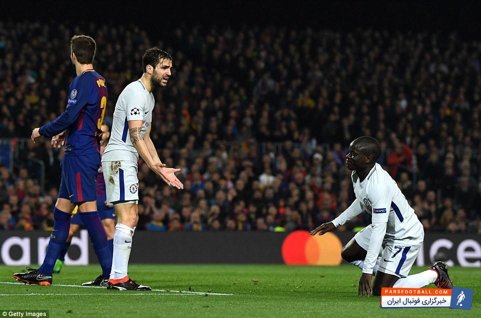 هواداران چلسی ؛ وقتی هواداران تیم بارسلونا طرفداران چلسی را کتک زدند! پارس فوتبال
