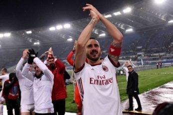 بونوچی کاپیتان میلان بعد از برد برابر لاتزیو برای هواداران تیمش پیامی منتشر کرد