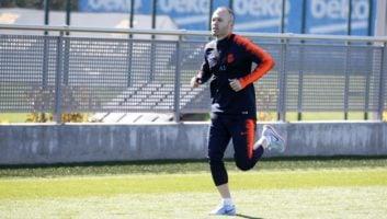 اینیستا کاپیتان بارسلونا امیدوار است تا به دیدار تیمش برابر چلسی انگلیس برسد