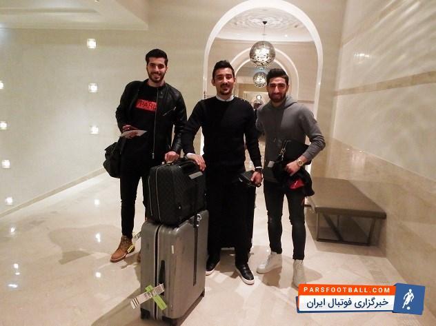 عکس ؛ سه لژیونر ایران به اردوی تیم ملی فوتبال ملحق شدند