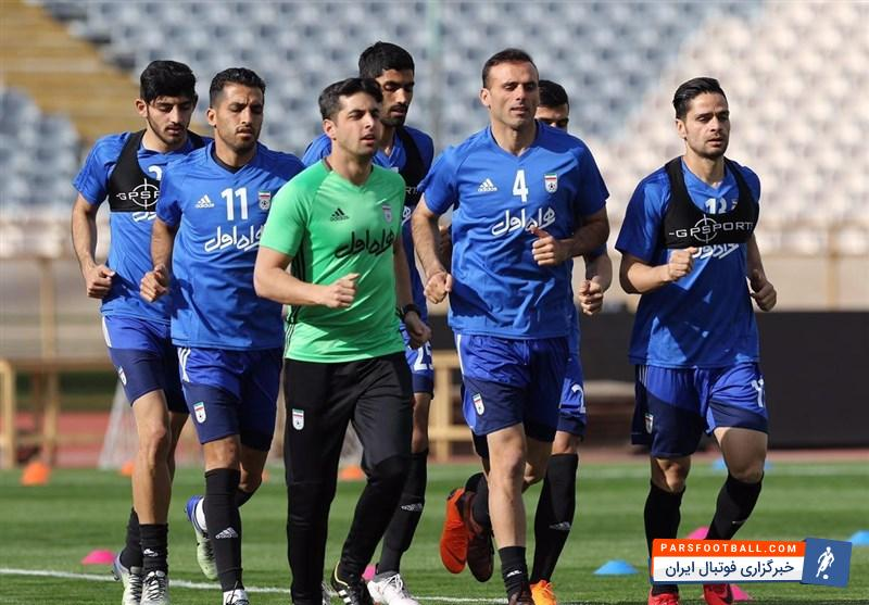 تیم ملی ؛ لیست بازیکنان دعوت شده به اردوی تیم ملی را به تفکیک تیم های باشگاهی