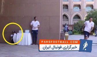 تفریح جالب بازیکنان منچسترسیتی در ابوظبی