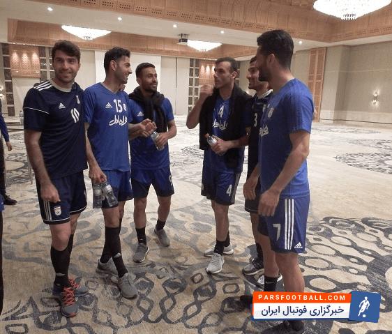 تیم ملی ؛ گزارش آخرین تمرین تیم ملی در سال ؛ بیرانوند و حسینی در هتل تمرین دروازه بانی کردند