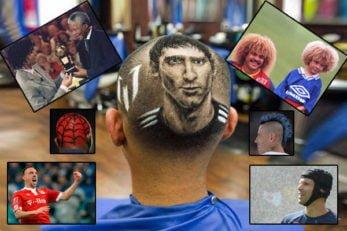 اوناع مدل موهای عجیب در فوتبال
