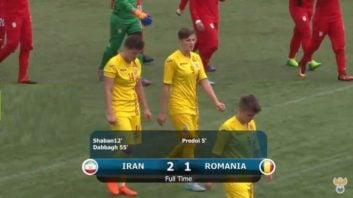 بازی تیم ملی بانوان ایران و رومانی