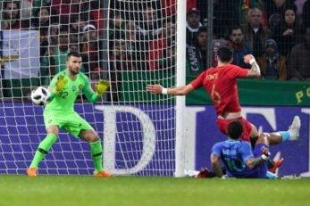 شکست تیم ملی پرتغال - رونالدو