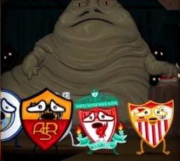 ترس آاس رم برای مقابله با مسی در لیگ قهرمانان اروپا