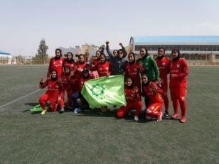 قهرمانی عجیب شهرداری بم در لیگ برتر فوتبال بانوان