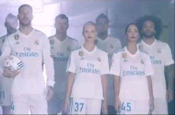 کلیپ تبلیغاتی جدید رئال مادرید