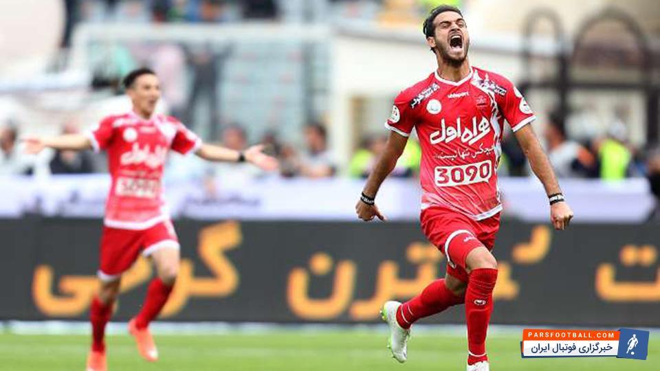 احمد نوراللهی ؛تلاش ستودنی بازیکنی که میخواهد در پرسپولیس ستاره باشد