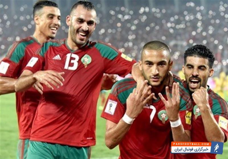 تیم ملی مراکش ؛ لباس تیم ملی مراکش برای جام جهانی لو رفت! ؛ پارس فوتبال