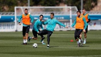حرکات نمایشی راموس و ایسکو در تمرین رئال مادرید