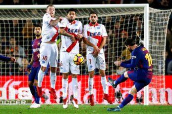 مسی ؛ نگاهی به 5 ضربه ایستگاهی فوق العاده از لیونل مسی ستاره آرژانتینی بارسلونا