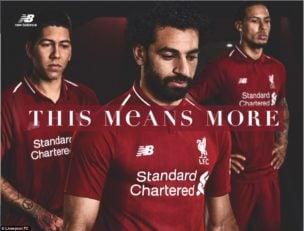 رونمایی از لباس فصل بعد تیم لیورپول