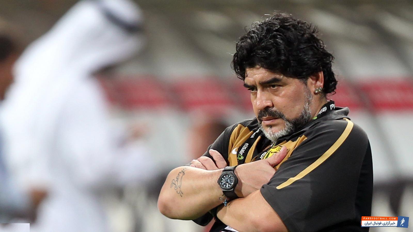 مارادونا کولیبالی را به یک قدیس تشبیه کرده است ؛ واکنش مارادونا به برد ناپولی در بازی حساس