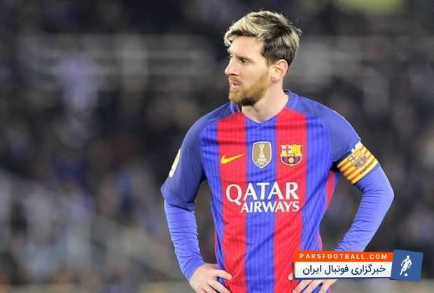 مسی ؛ عصبانیت های شدید لیونل مسی در مستطیل سبز ؛ خبرگزاری فوتبال ایران