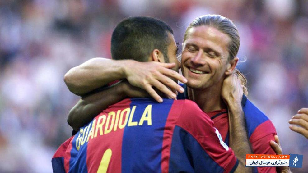 پتی : در دوران حضور من در تیم بارسلونا 3 دسته بود.کاتالانها، هلندیها و بقیه