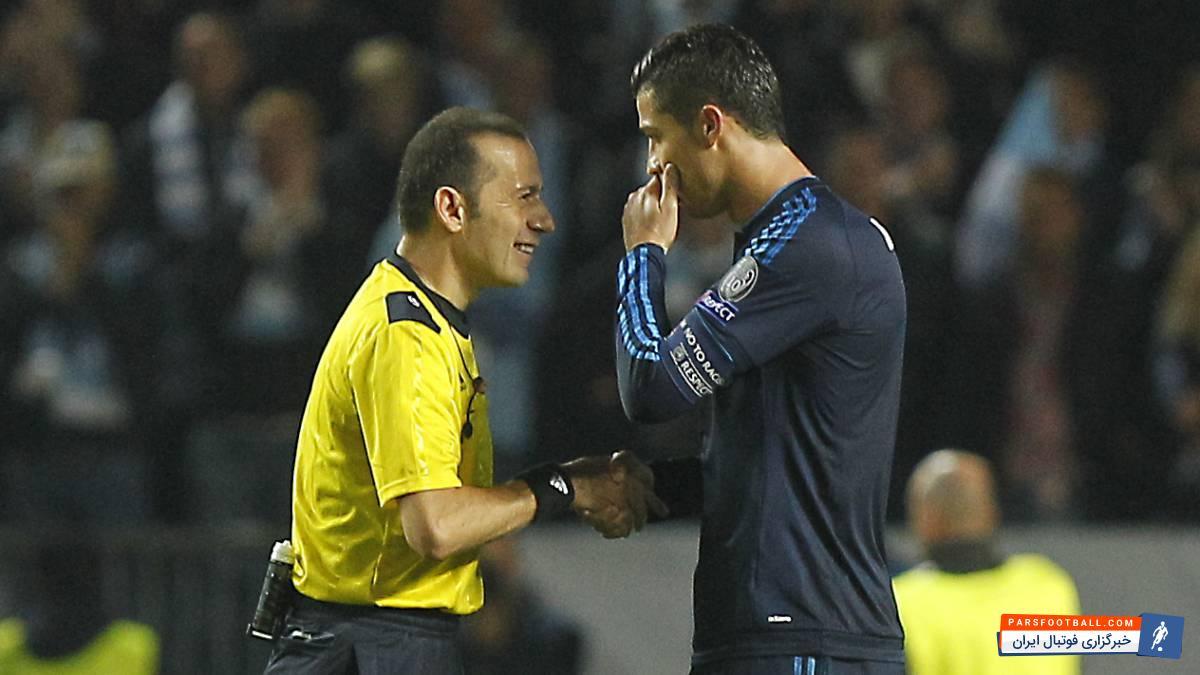 اختصاصی ؛ قضاوت دیدار رئال مادرید و یوونتوس در لیگ قهرمانان اروپا با سوت های آقای چاکر