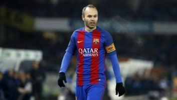 اینیستا کاپیتان تیم فوتبال بارسلونا اسپانیا با باشگاه فوتبال تیانچین چین به توافق رسید