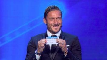توتی ؛ واکنش های فرانچسکو توتی بعد از هر گل تیم فوتبال رم به بارسلونا