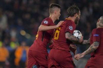 رم ؛ مدافعان تیم فوتبال رم به خوبی در بازی برابر بارسلونا لیونل مسی را مهار کردند