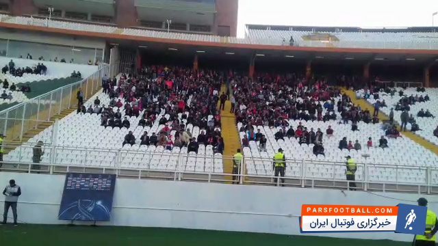 تراکتورسازی ؛ کلیپی از شعار هواداران تراکتورسازی علیه بازیکنان و مدیریت باشگاه