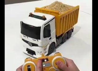کیک به شکل ماشین کامیون متحرک!