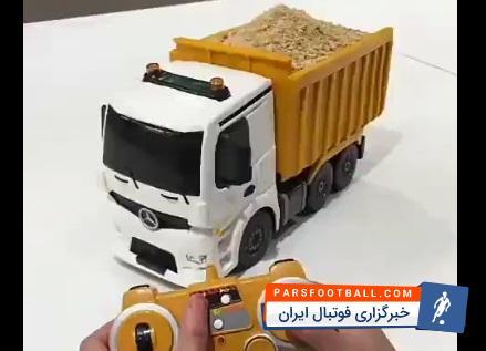 کامیون ؛ ابتکاری فوق العاده جالب در درست کردن کیک به شکل ماشین کامیون متحرک!
