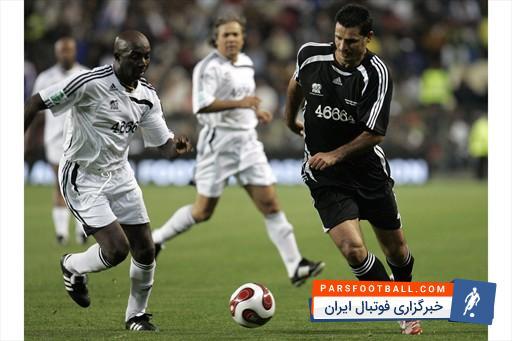 هایلایتی از علی دایی در تیم منتخب جهان مقابل منتخب آفریقا (2007) ؛ پارس فوتبال