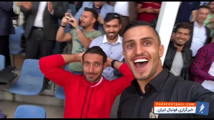 نساجی مازندران ؛ واکنش جالب علیپور و خلیل زاده پس از صعود نساجی به لیگ برتر