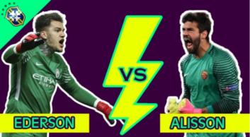 سیو های برتر آلیسون بکر و ادرسون مورائس در فصل 2017/2018