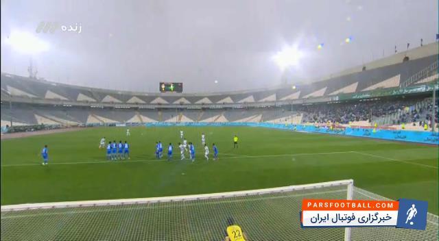 کلیپی از گل اول تیم فوتبال پیکان به استقلال در بازی های لیگ برتر خلیج فارس 2 اردیبهشت 97