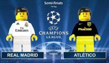 شبیه سازی بازی رئال مادرید و اتلتیکومادرید