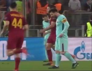 واکنش مسی پس از گل سوم رم