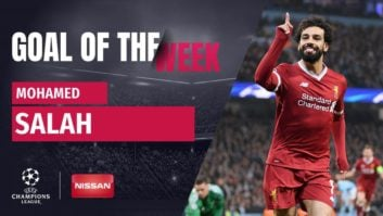 گل محمد صلاح به منچسترسیتی بهترین گل یک چهارم نهایی لیگ قهرمانان اروپا